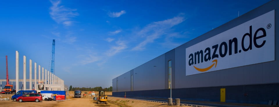 Amazon Warehouse built in Rheinberg