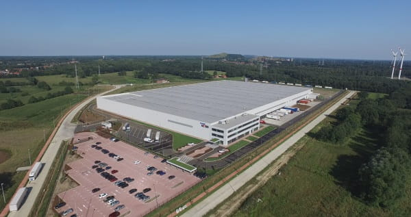 Arial view Goodman Mobis Beringen Warehouse