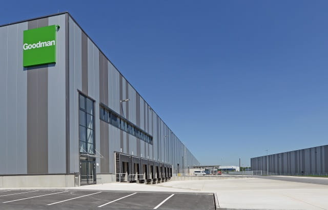 Goodman completes a new project in the port of Duisburg for Amazon